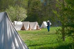 Man in Camp