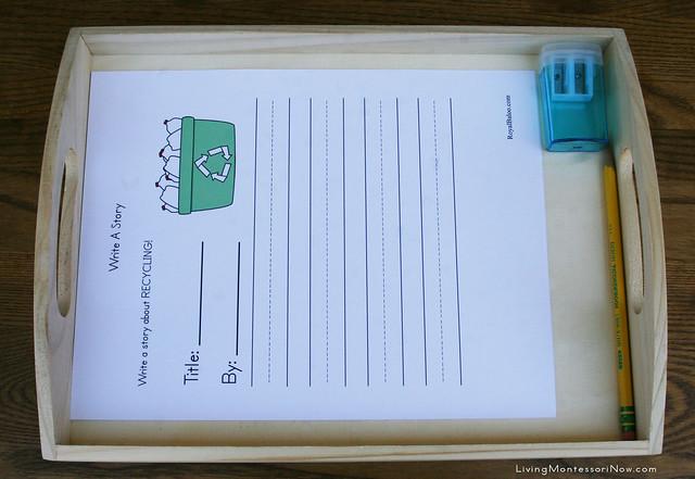 Write a Recycling Story