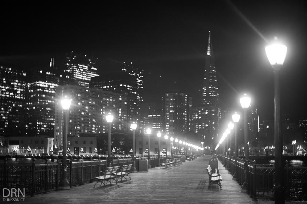 Pier B&W.