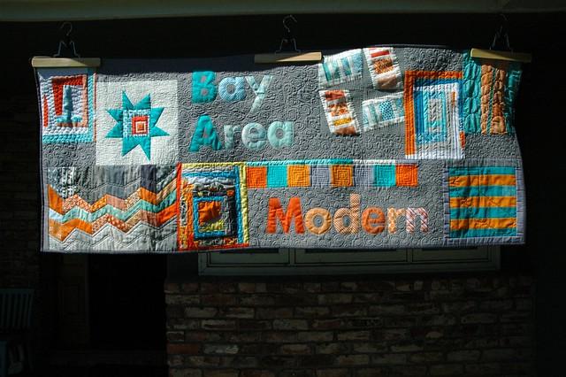 Bay Area Modern Quilt Guild banner