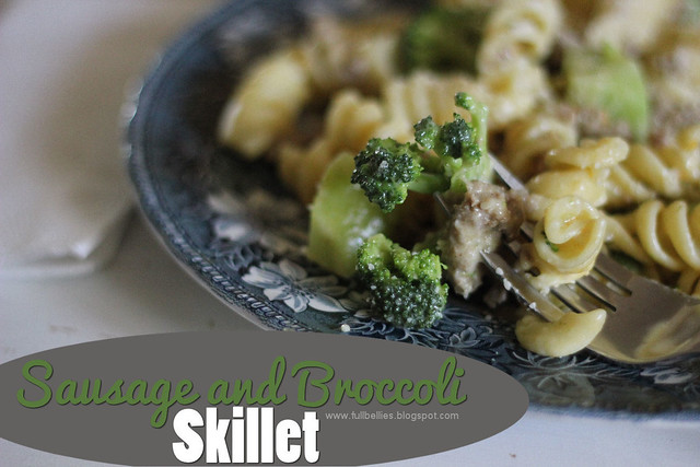 Sausage and Broccoli Skillet