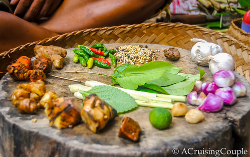 Ingredients Ubud Bali Cooking
