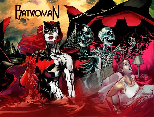 Batwoman 19 cover clr-logomock