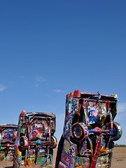 Cadillac Ranch - Blue Sky Over Cads