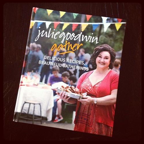 Pleasantly surprised after an initial flick through new Julie Goodwin cookbook #gather