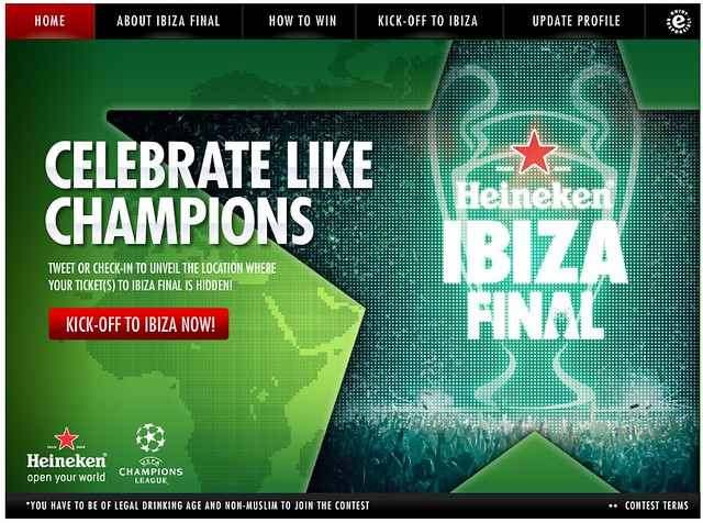 Heineken Kick Off To Ibiza