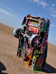 Cadillac Ranch - Stop Tilting The Planet