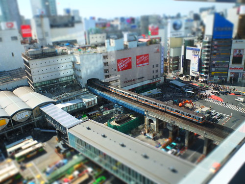 Former Tokyu department east building and Tokyo Metro Ginza line