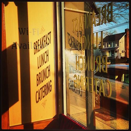 shadow sunrise square cafe squareformat mayfair portwashington iphoneography instagramapp