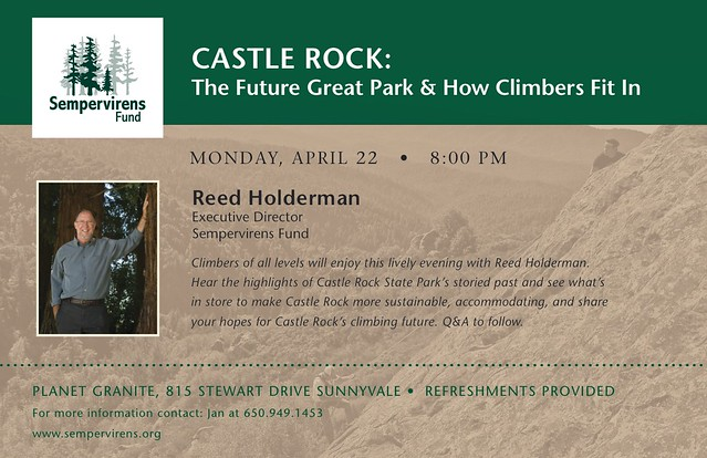 130416 - Sempervirens Castle Rock Talk