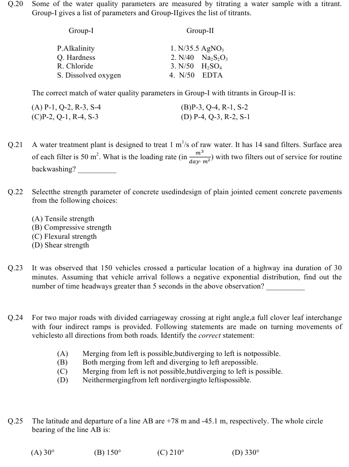 GATE 2013 Question Papers with Answers   Civil Engineering [CE] in gate  Category