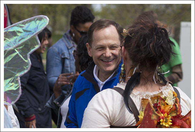 Earth Day In Forest Park 2013 5 (Mayor Slay And The Faeries)