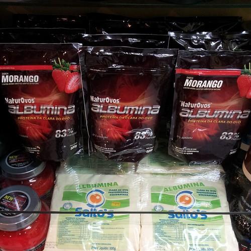 Chegou a albumina mais pura do mercado by Mega Vitaminas