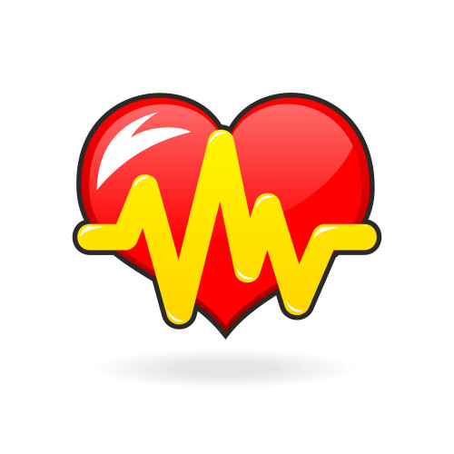Heart beat icon Medium