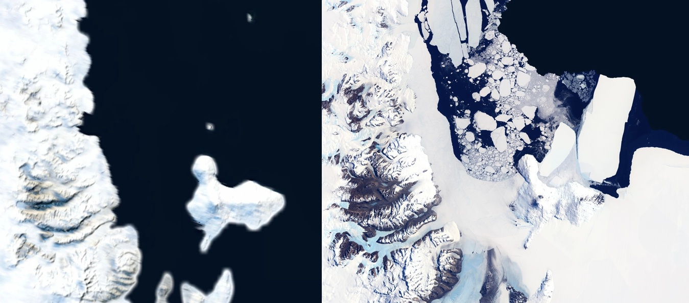 Before and After | MapBox Antarctica