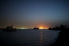 Shipwreck at Doha Kuwait