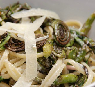fiddlehead pasta
