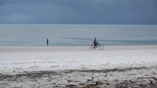 Playa de pemba, somos pocos en bici