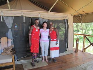 Samburu Staff at Elephant Watch