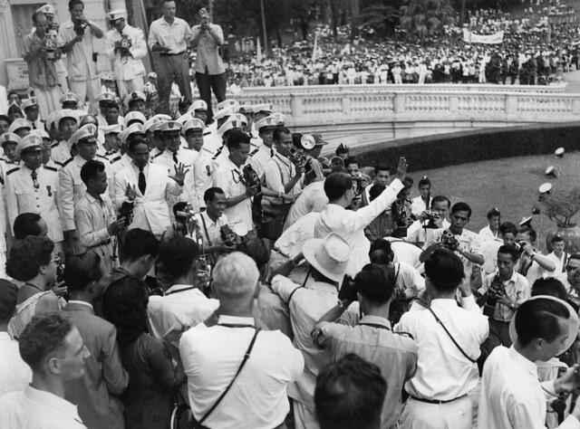 Saigon 1955 - Referendum Diem v. Bao Dai