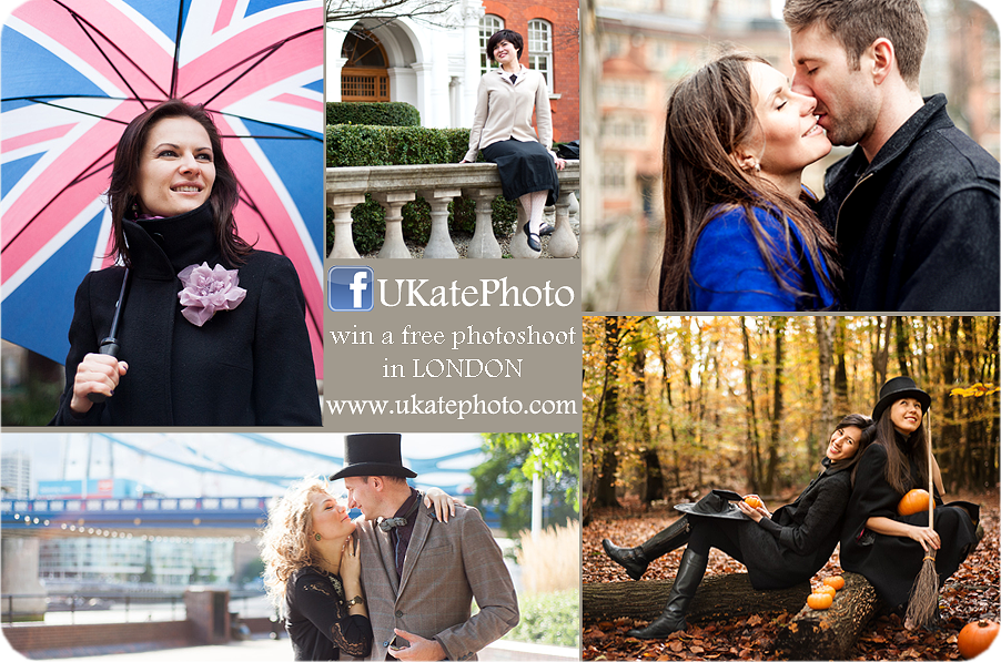 Free photoshoot in London
