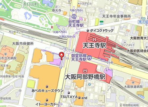 abeno map