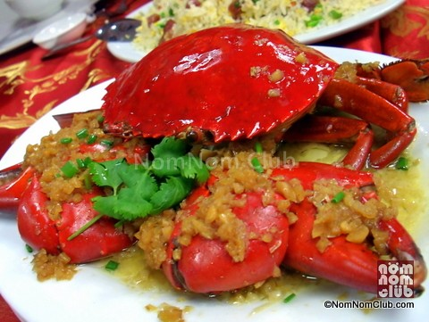 Steamed Crab with Garlic (seasonal price)