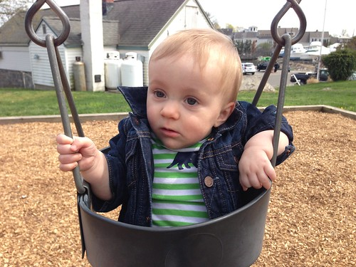 Martin's First Swing
