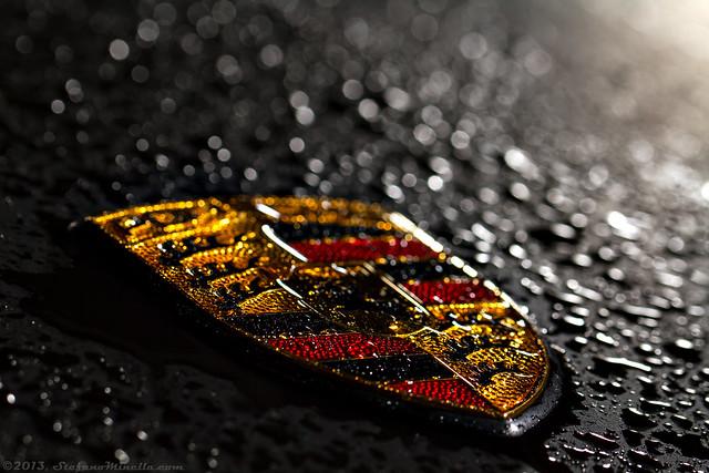 Porsche 911 Turbo Emblem