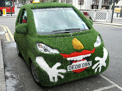 custom grass smart car gallery12-grass-covered-smart-car-large