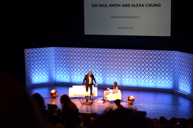 daisybutter - UK Style and Fashion Blog: vogue festival 2013, paul smith, alexa chung