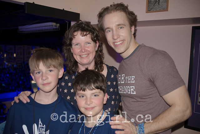 National We Day in Ottawa - meeting Craig Kielburger!