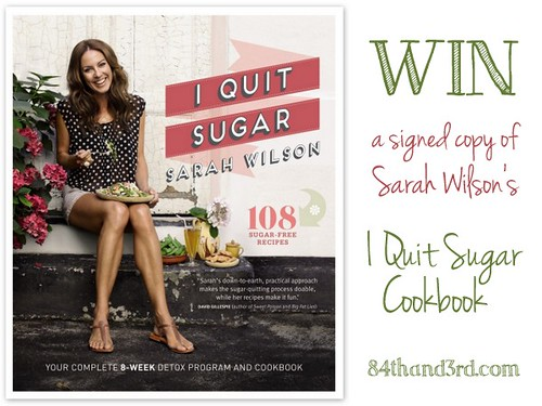 Win an I Quit Sugar Cookbook