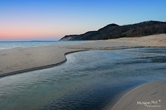 Otter Creek Outlet, Sleeping Bear Dunes National Lakeshore by Michigan Nut
