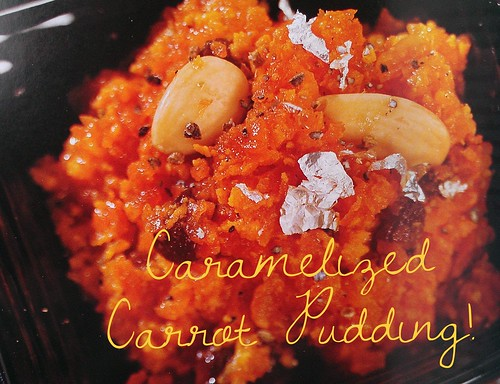 Caramelized Carrot Pudding