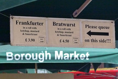 Borough Market_Bratwurst
