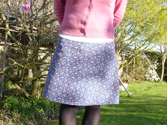 New Look pattern 6053 made from needlecord