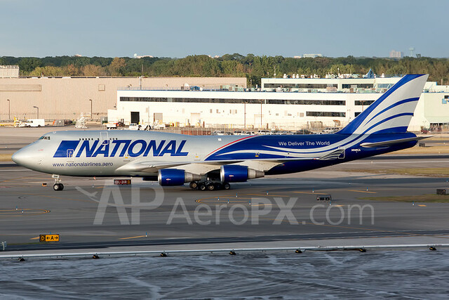 National Air Cargo Boeing 747-428M(BCF) - N949CA (Crashed in Afghanistan on 4/29/13)