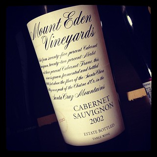 mount eden vineyards cabernet