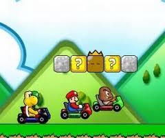 Mario na wyścigach