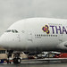 Thai Airways Airbus A380-841 Pushback