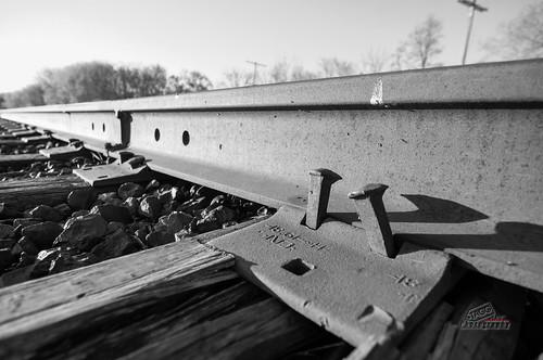 shadow bw train sunrise pentax tracks wideangle spike kr grimsby hfg smcpda1224mmf40edalif justpentax singlechallenges simay2013