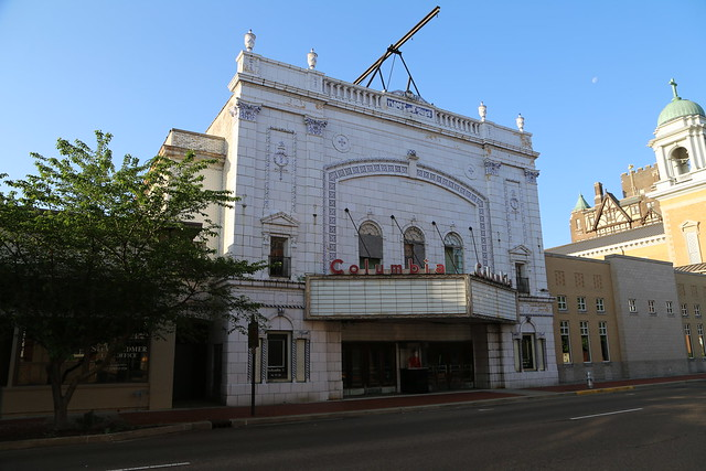 Paducah Kentucky, Columbia Theater, Movie Theater