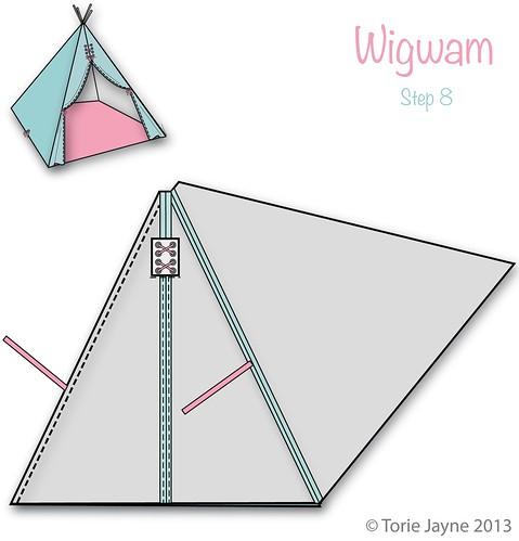 Wigwam Step 8