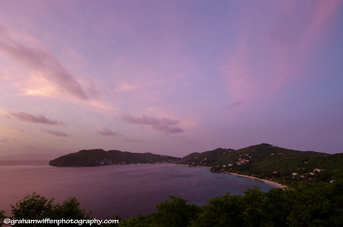 Sunser from Ravenala, Bequia
