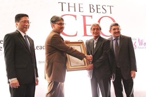 The CEO of Choice 2013: Dwi Soetjipto.