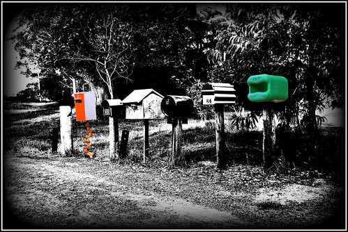 monochrome letterboxes mailboxes postboxes albany greatsouthern landscape fuji fujifilmx100 x100 trees street beachesandlandscapes beacheslandscapes
