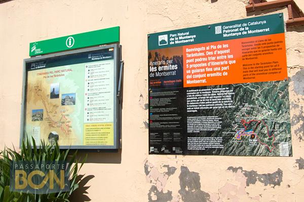 trilhas, Montserrat