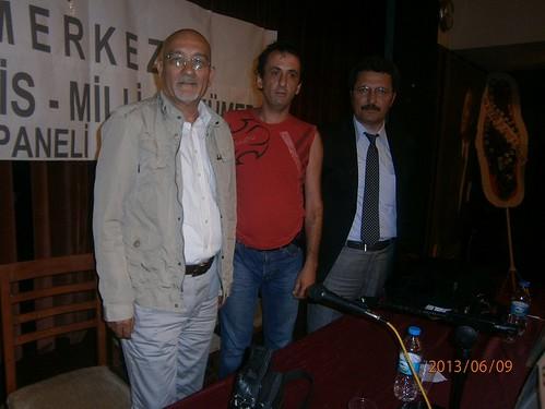 Prof. Ercan Enç , Yeniçağ gazetesi yazarı Arslan Bulut ve Cem Akkılıç