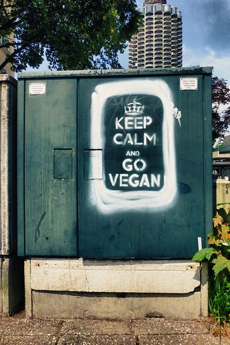 Keep Calm and go vegan Augsburg